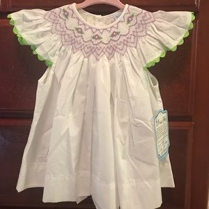 24 month smocked outfit